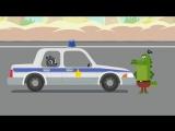 Мультики про машинки - Тачки - Тачки - Погоня на полицейской машине! Новые мульт