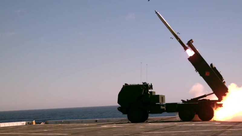 HIMARS Rocket Sea-Based Expeditionary Fires