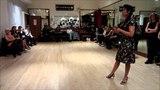 Tango Lesson Rhythmic Check Steps for Milonga