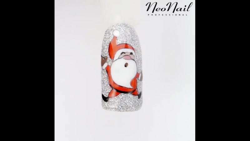 Дизайн ногтей к новогодним праздникам