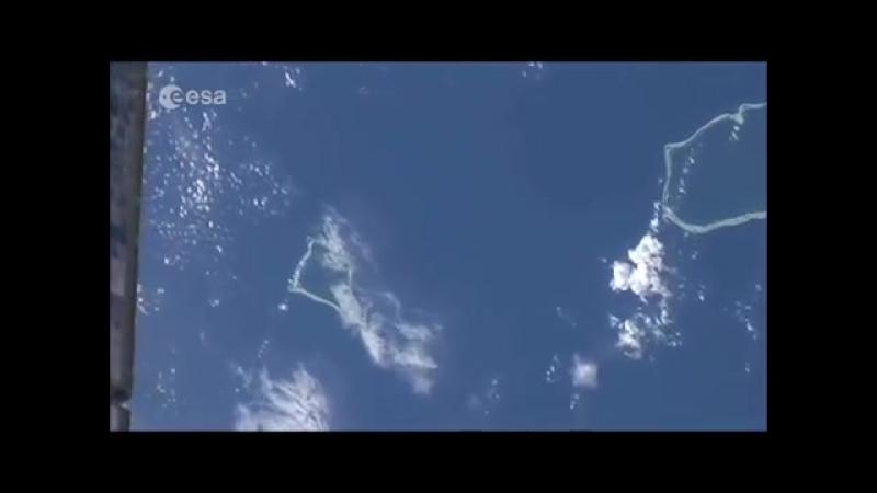 Если смотреть на Луну с орбиты, то Земля будет Плоской, Видео НАСА без ретуши