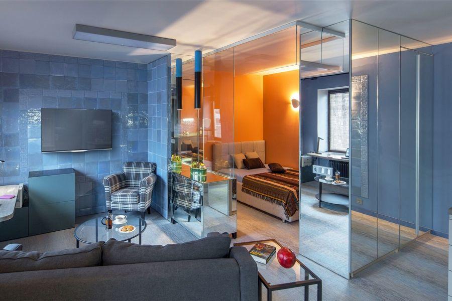 Квартира-студия 36 м в Москве.