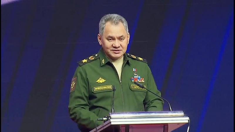 Шойгу Запад обостряет военно политическую обстановку у границ России