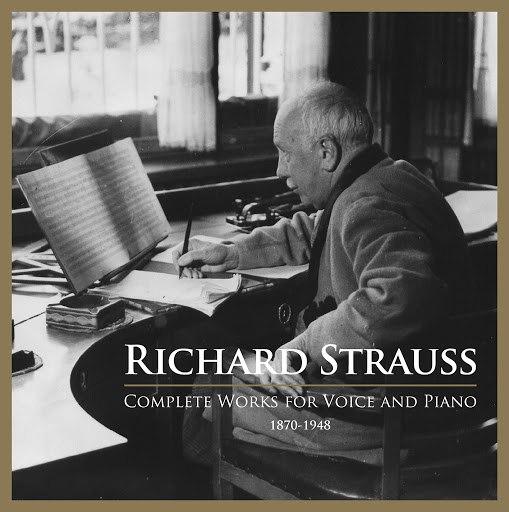 Richard Strauss альбом Richard Strauss: Complete Works for Voice & Piano