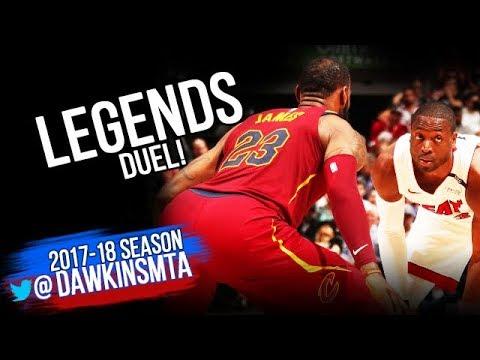 Dwyane Wade vs LeBron James LEGENDS Duel 2018.3.27 - Wade GOT LeBron! | FreeDawkins