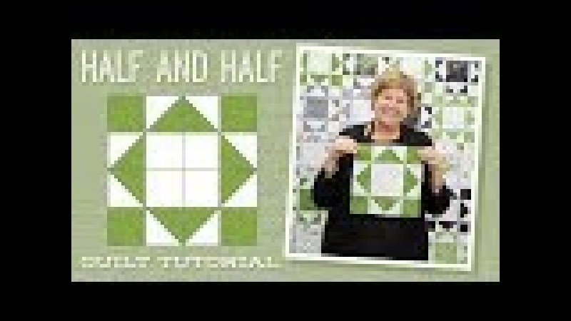 Make a Half and Half Quilt with Jenny!
