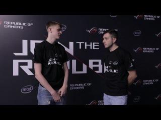 Интервью с malik от Strike, Join The Republic Russia
