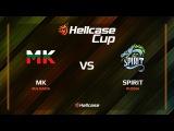 MK vs Spirit, mirage, Hellcase Cup 6