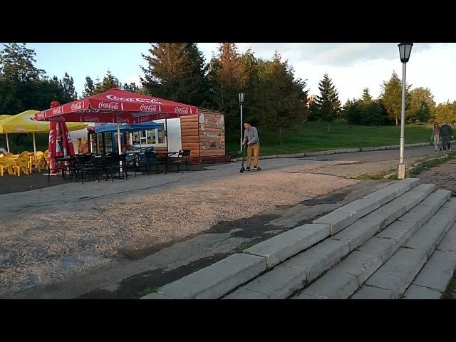 Прогулка на электросамокате по набережной в Новосибирске (4)