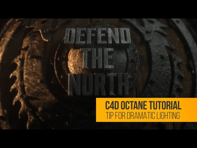 C4D Octane Tutorial: Dramatic Lighting Tip