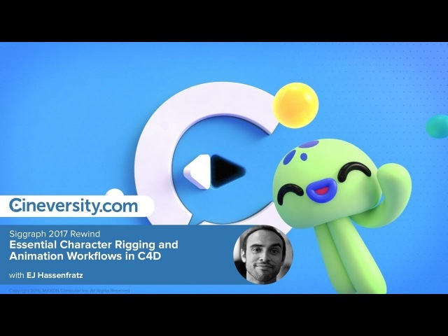 Cartoon squid Character Rigging and Animation Workflows in C4D || Cinema 4d Tutorials