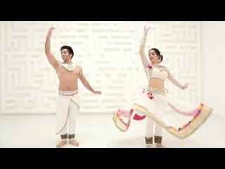 Kathak Fusion dance by Svetlana Tulasi & Kumar Sharma   Tera Chehra by Adnan Sami