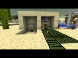 How to turn on a lamp - Modded Minecraft Rube Goldberg
