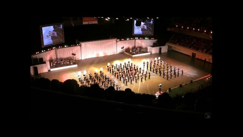 EVANGELION played by Military Band - JSDF Marching Festival 2011 自衛隊音楽まつり 02/14