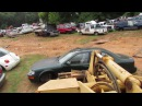 Organizing Scrapyard Cars (also dented the maxima)
