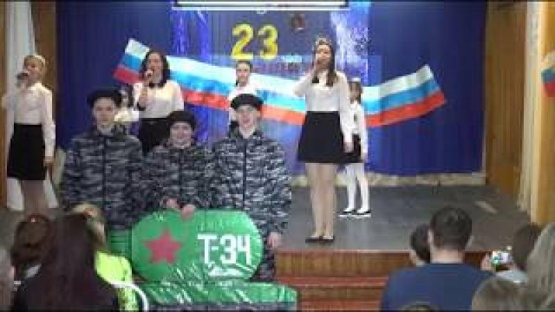 Непобедимая и легендарная концерт ко Дню защитника Отечества ДДТ Воргашор