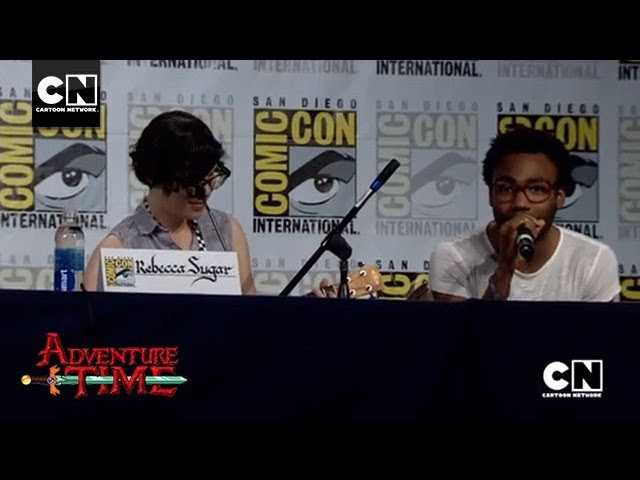 Donald Glover Rebecca Sugar Sing Bad Little Boy   SDCC 2013   Cartoon Network