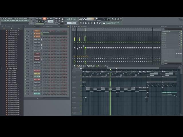 Linkin Park - From the Inside [FL STUDIO REMAKE]