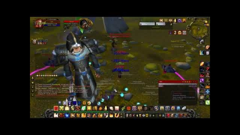World Of Warcraft Sirus.su От нечего делать вдвоем убили 4 категорию