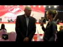 Вшоубизе24 Интервью Виктора Супрунова ген директора олимпийского центра корр Елена Варваричева