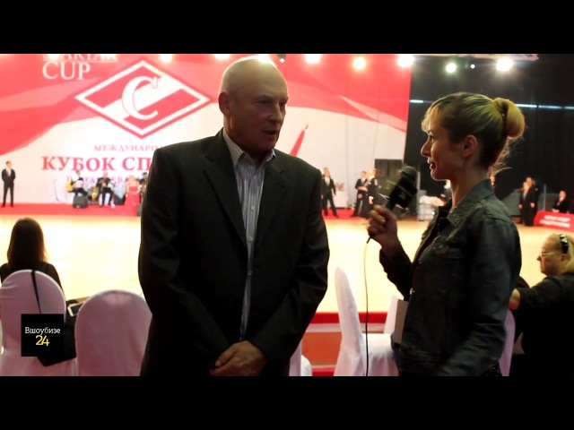 Вшоубизе24 - Интервью Виктора Супрунова, ген.директора олимпийского центра, корр. Елена Варваричева