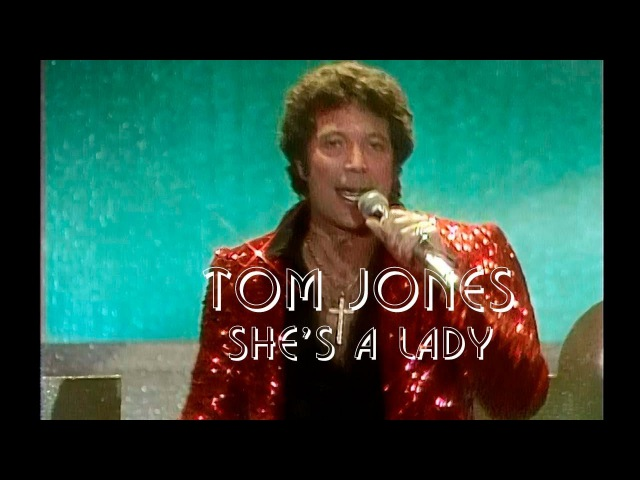 Tom Jones. She's a Lady / Live, 1970's