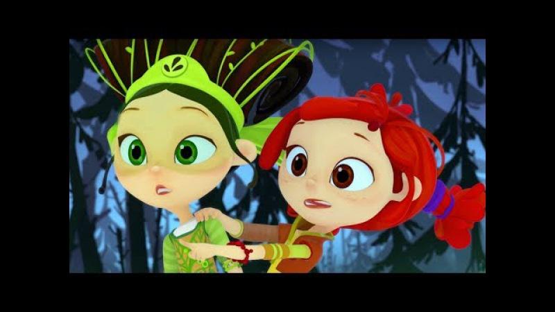 Сказочный патруль - Мега сборник - все серии подряд - мультфильм о девочках-волшебницах