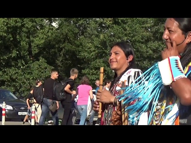 Ecuador Spirit Wuambrakuna ~~ Muchachos de pelo largo. Moscow. 20170722171128