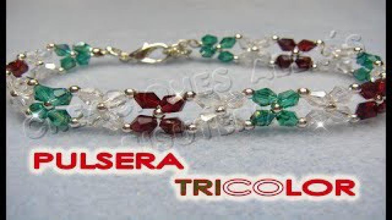 Bisuteria Pulsera Tricolor........((47))