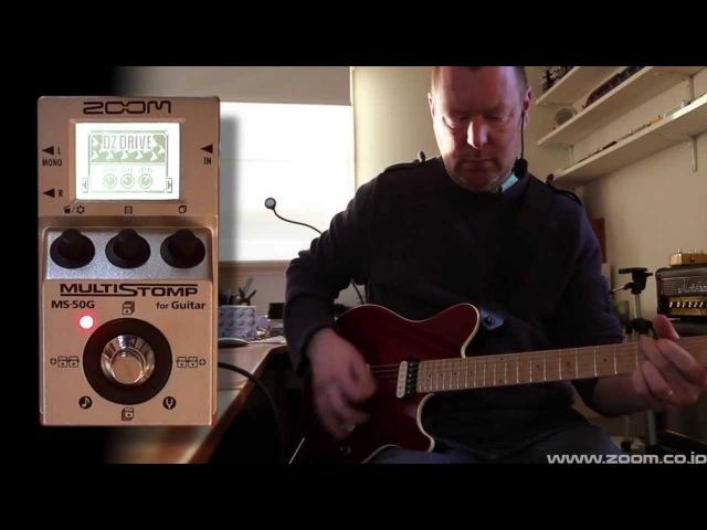 Zoom MS-50G Multistomp : (Part 2) Amp models