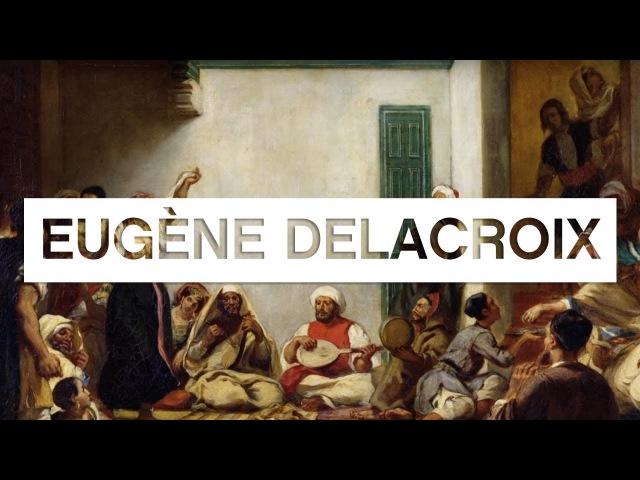 Les grands maîtres de la peinture Delacroix - Toute LHistoire