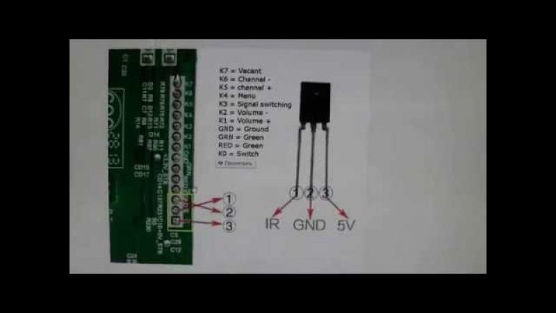 как подключить TV скалер к матрице
