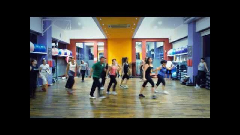 Play Hard - David Guetta Feat. Ne-Yo Akon - Aerobic Choreography - 148 BPM - 15/11/2013.