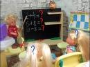 Вместо учителя. Кому пятерок Мультики про школу. Барби школа куклы мультики