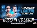 FIGHTSTAR CHAMPIONSHIP 12 Qamar Hussain vs. Thor Palsson