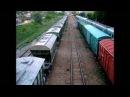 ТЭ33А 0234 Тулпар Тальго Алматы Защита ТЭ33А 127 с грузовым поездом Усть Каменого