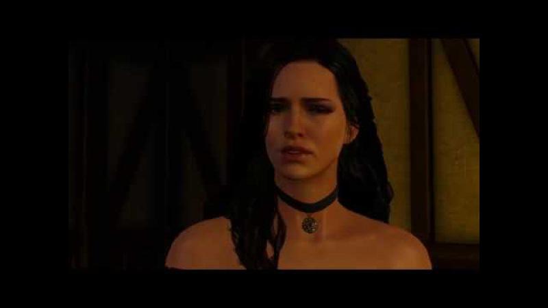 The Witcher 3 Разговор Цири с ложей Чародеек.
