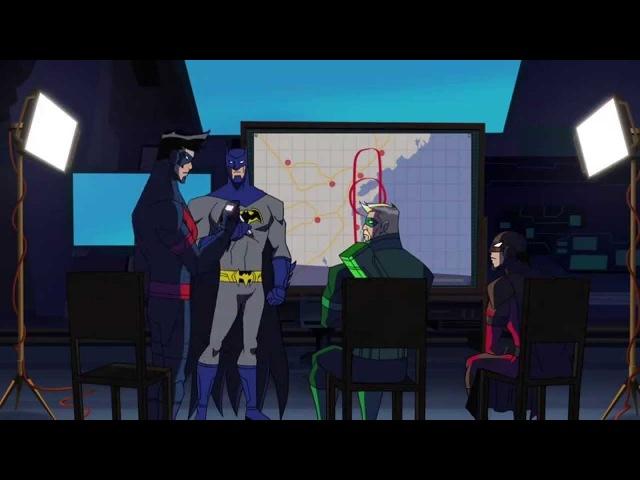 Batman Unlimited: Monster Mayhem / Безграничный Бэтмен: Нашествие монстров (2015) трейлер