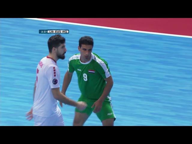 Lebanon 2-2(aet) Iraq (AFC Futsal Championship 2018: Quarter-Finals)