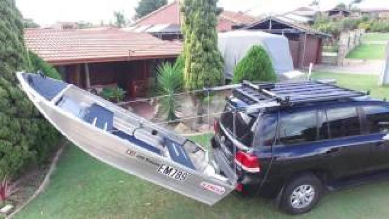 Home Made Boat Loader