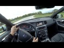 2018 Volvo V60 T6 AWD R Design POV Walkaround Test Drive Binaural Audio