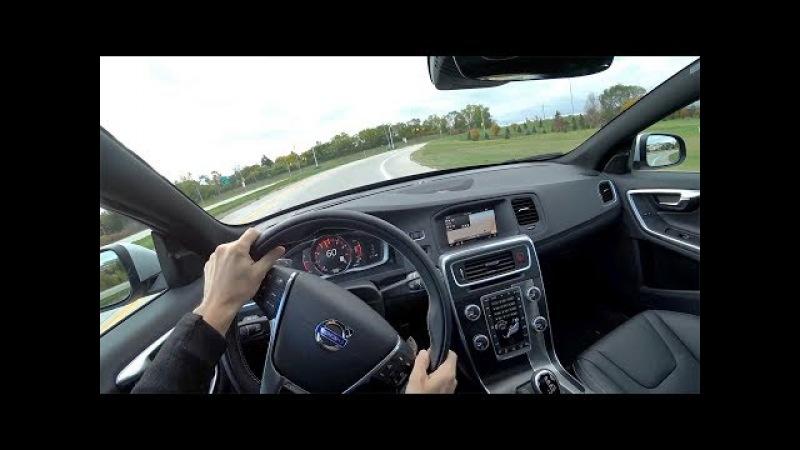 2018 Volvo V60 T6 AWD R-Design - POV Walkaround Test Drive (Binaural Audio)