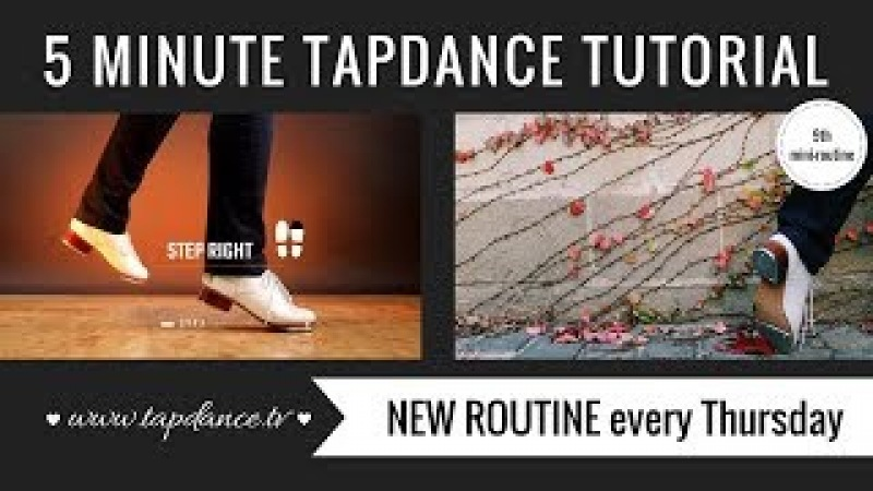 FLAP - Tap Dance Tutorial – 9th mini-routine – 5 minutes