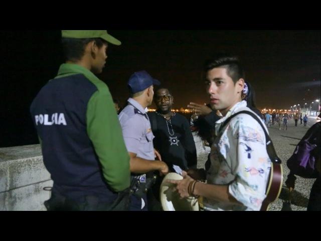 Кубинская полиция и ночная жизнь на Кубе куба гавана путешествие