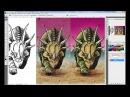 Отрисовка Наклеек Dinosaur Planet Планета Динозавров