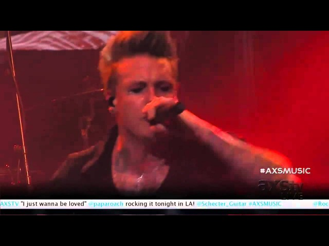 Papa Roach Alive 'n out of control live @ Nokia Theater 11 16