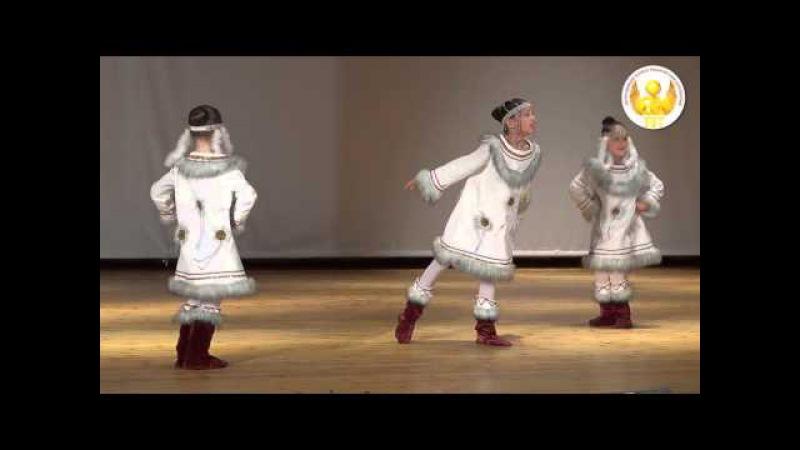 «Корякский танец». Отчетный концерт образцового хореографического коллектива ...