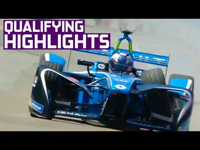 Qualifying Highlights: 2018 CBMM Niobium Punta del Este E-Prix