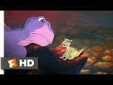 The Land Before Time (410) Movie CLIP - Littlefoot Meets Ducky (1988) HD