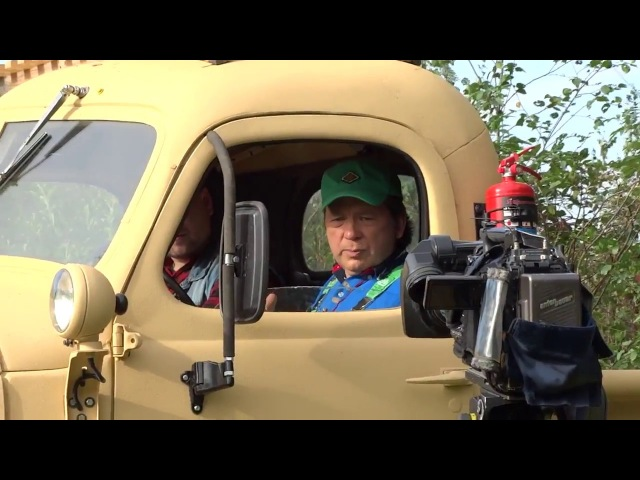 Бэкстейдж со съемок передачи Главная дорога НТВ от 14.10.2017